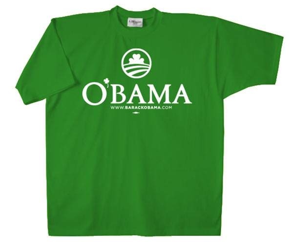 Obama Irish t-shirt