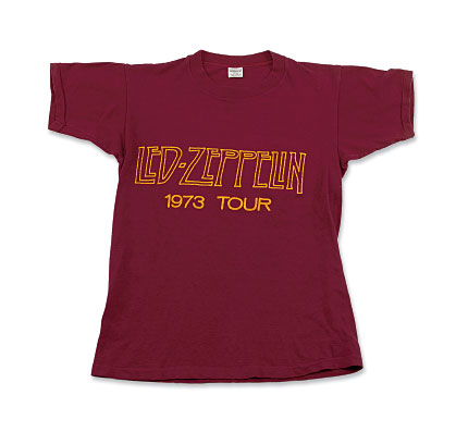 Led Zeppelin - 1973 Tour T-shirt